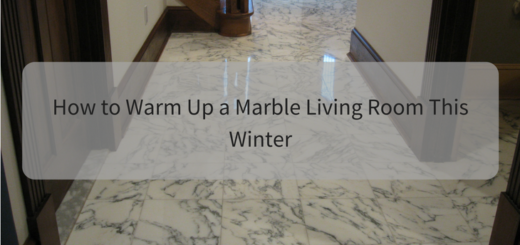 How to Warm Up a Marble Living Room This Winter