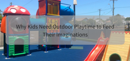 Why Kids Need Outdoor Playtime to Feed Their Imaginations