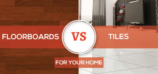 Floorboards VS Tiles In Your Living Areas