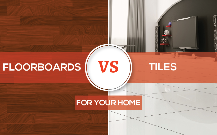 Floorboards VS Tiles In Your Living Areas