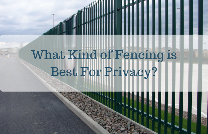 What Kind of Fencing is Best For Privacy-