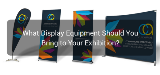 What Display Equipment Should You Bring to Your Exhibition-
