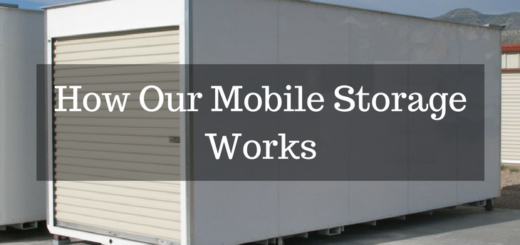 How Our Mobile Storage Works