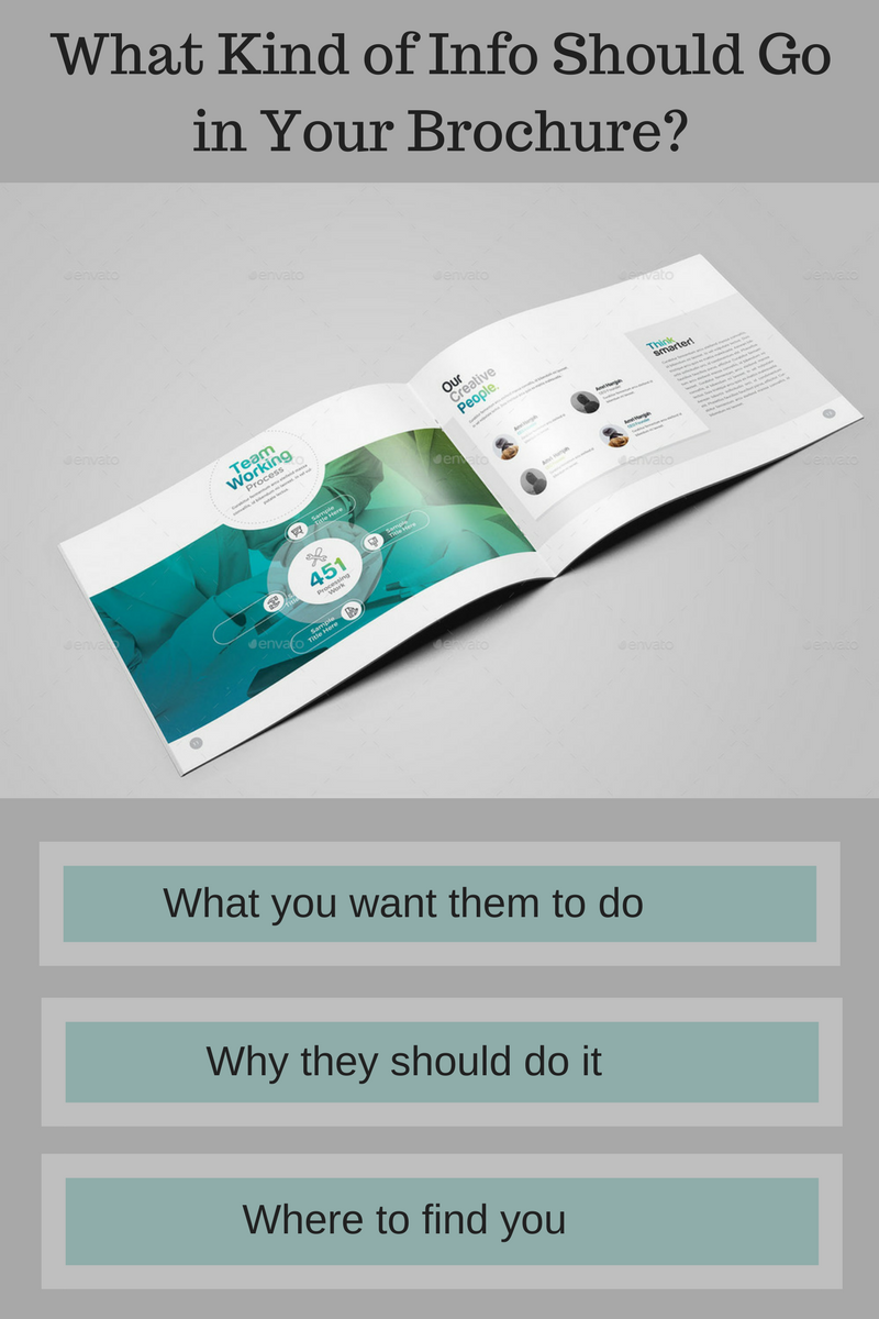 What Kind of Info Should Go in Your Brochure-