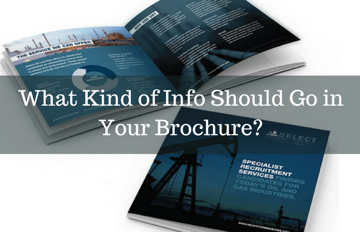 What Kind of Info Should Go in Your Brochure Design-