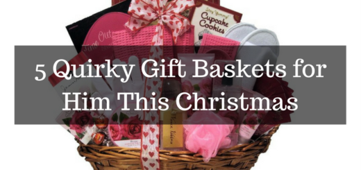 5 Quirky Gift Baskets for Him This Christmas