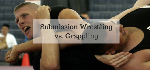 Submission Wrestling vs. Grappling