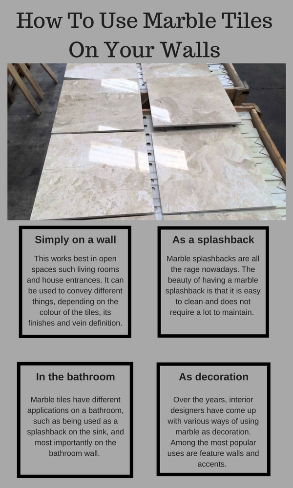 How To Use Marble Matters Tiles On Your Walls