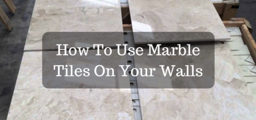 How To Use Marble Tiles On Your Walls