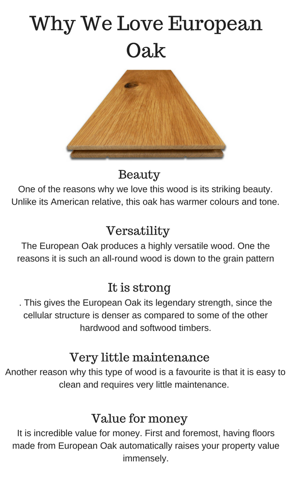 Why We Love European Oak Flooring