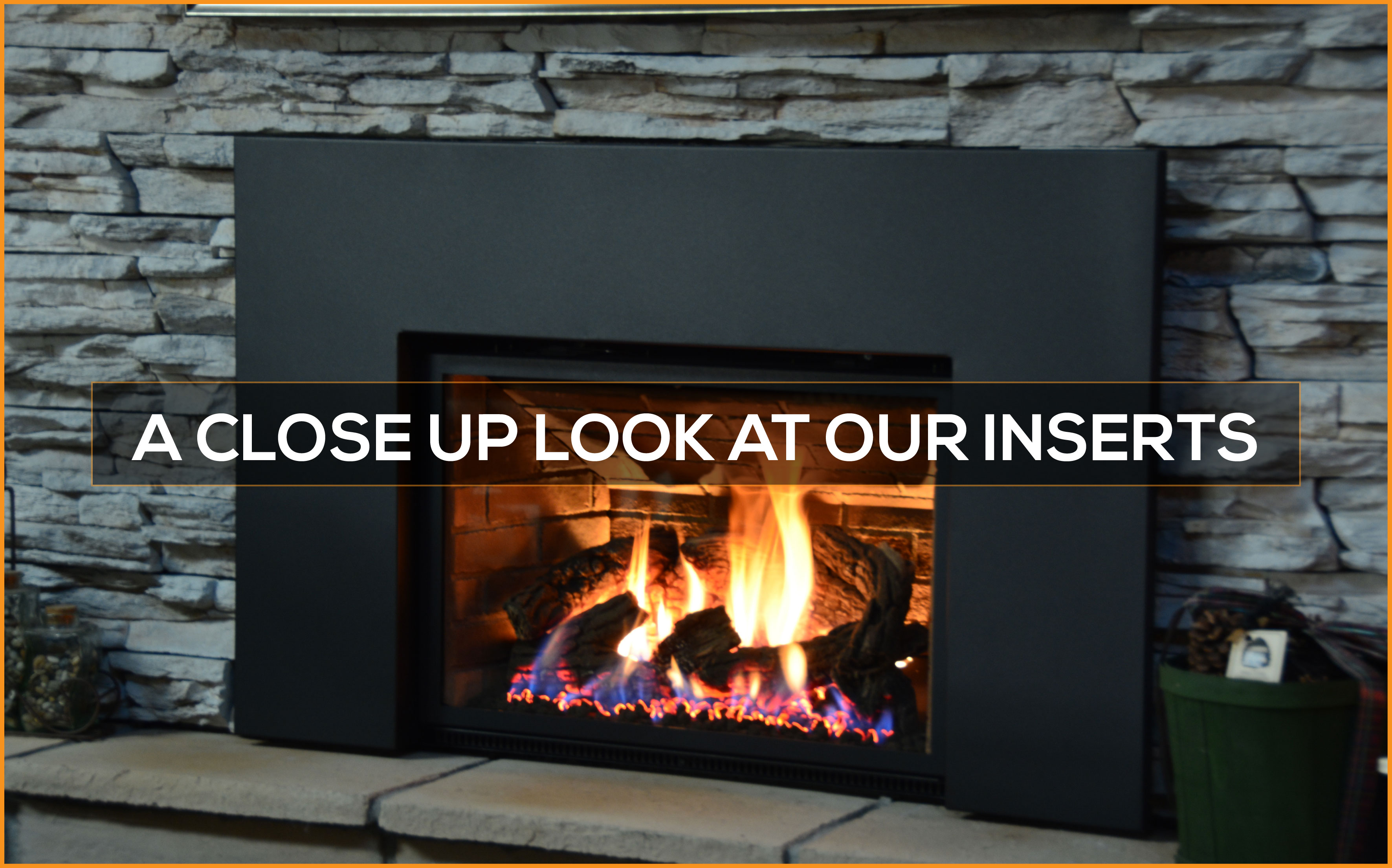 A close up look at gas insert