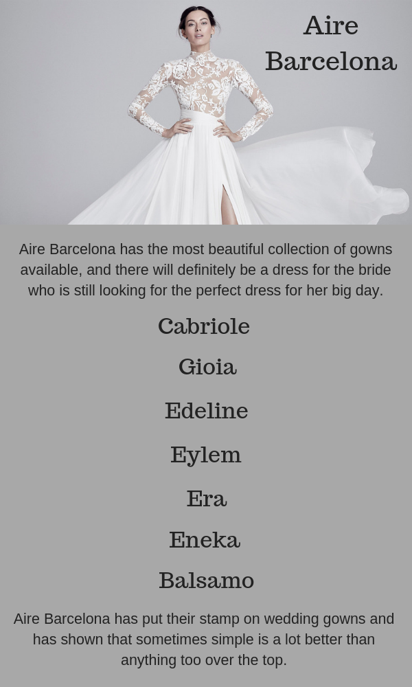 Aire Barcelona Bridal Industry