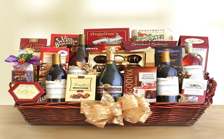 australia Christmas gift basket