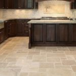 Marble floor tile size options