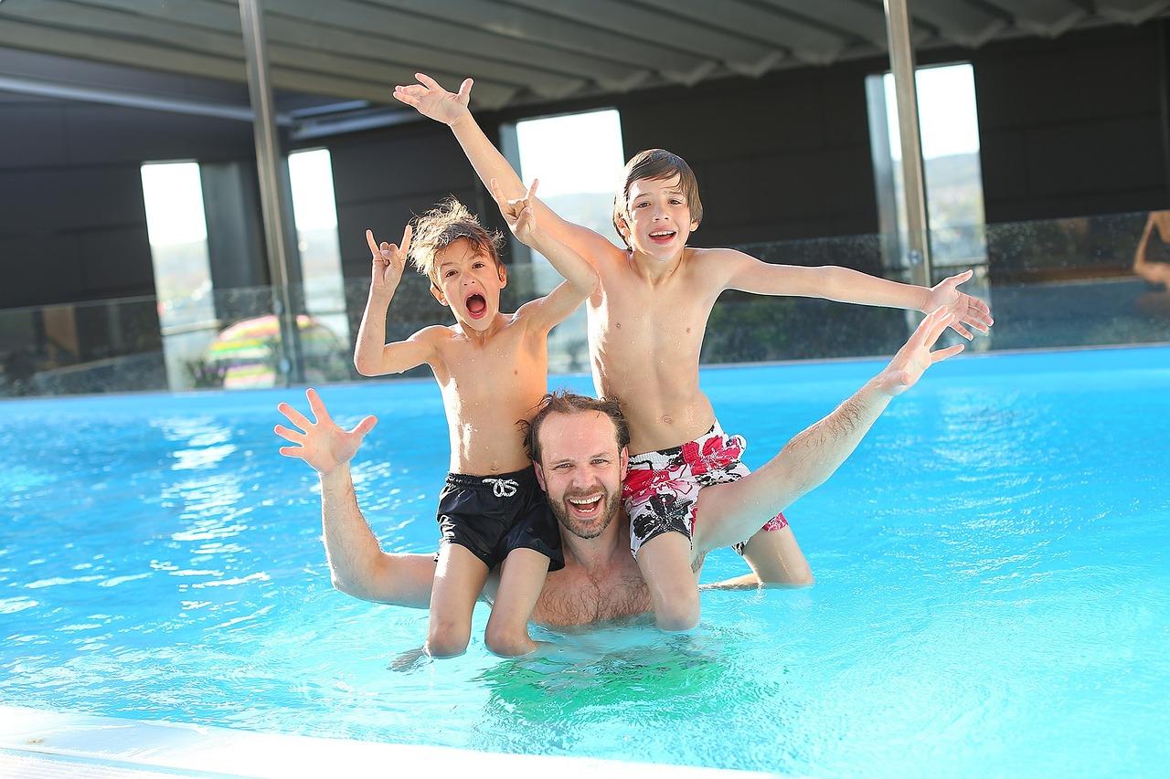 kids friendly swimming pool