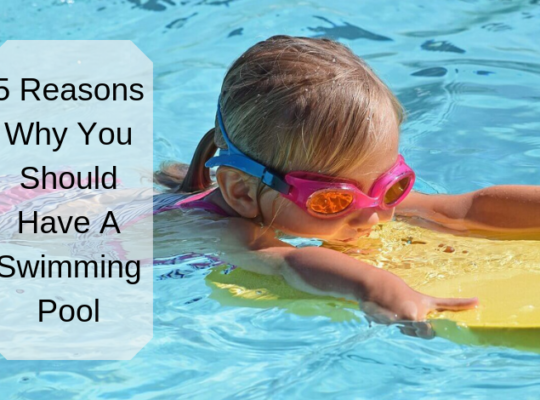 5 Reasons Why You Should Have A Swimming Pool