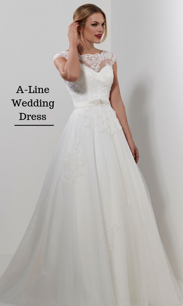 The A-Line Wedding Dresses
