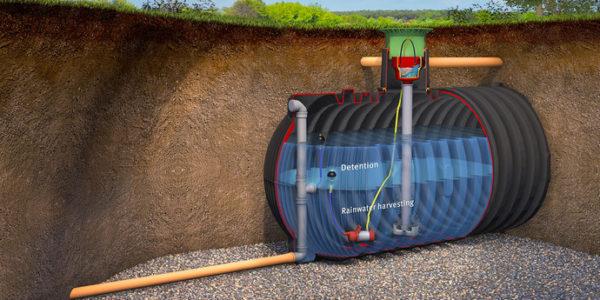 underground rainwater tank